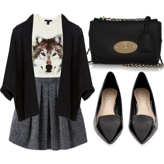 Lily Collins Inspired Dinner Outfit