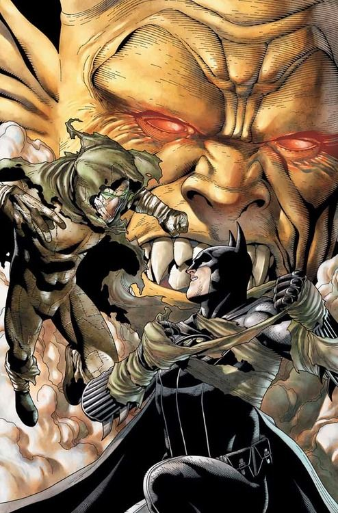 Batman vs Ragman by Andy Clarke