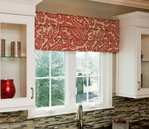 How To Dress Up #Kitchen Windows With A Cornice Board | Cultivate.com |  Window Treatments | Pinterest | Cornice Boards, Cornice And Window