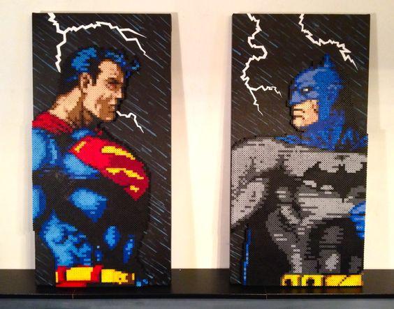 batman vs superman pixel - photo #3