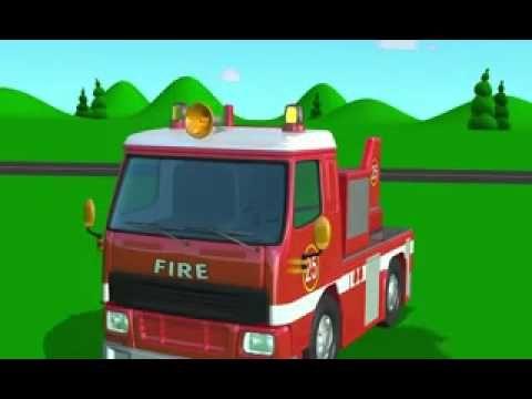 Tutitu Camion De Bomberos Youtube Vehicles Bus Videos