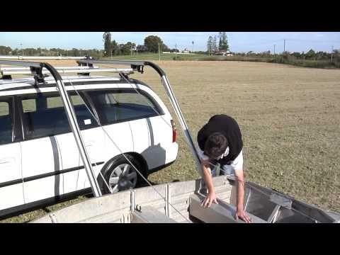 Rhino Rack Side Boat Loader How It Works Youtube Boat Boat Wheel Roof Rack