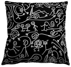 Mountain, a Guildery Fabric Collection by Orlando Soria with Home Decor, Throw Pillows, Ottomans, Benches, Drapery