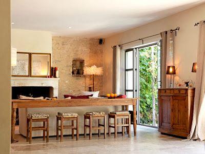 ESTILO RUSTICO: Casa Rustica en Francia