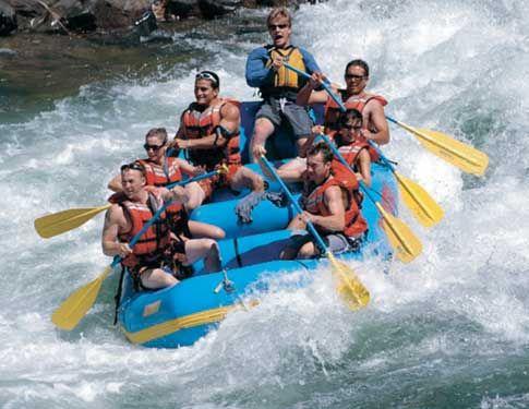 white water rafting in September!
