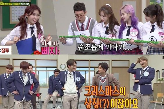 """Watch: TWICE And EXO Bring The Laughs In Previously Unseen """"Ask Us Anything"""" Clips"""