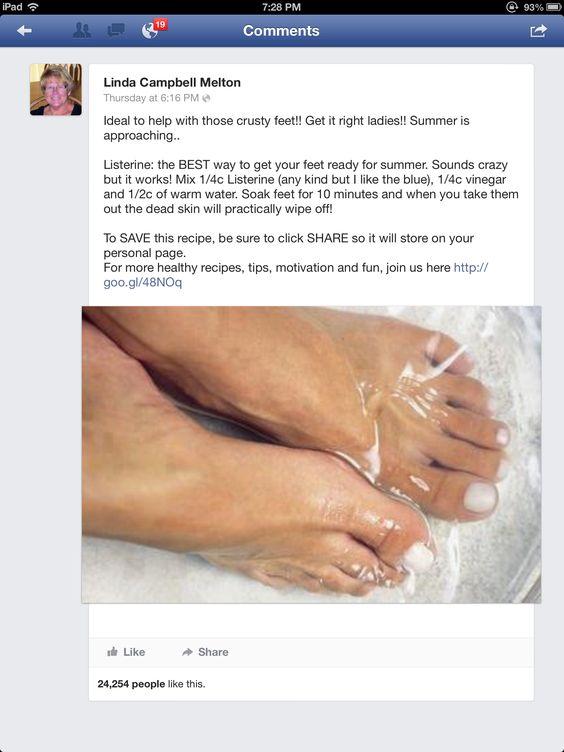 Foot soak