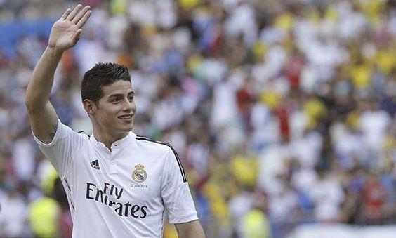 """James Rodríguez tras su presentación: """"Siempre soñé estar en el Real Madrid"""""""