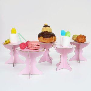 Cake stand mini rose