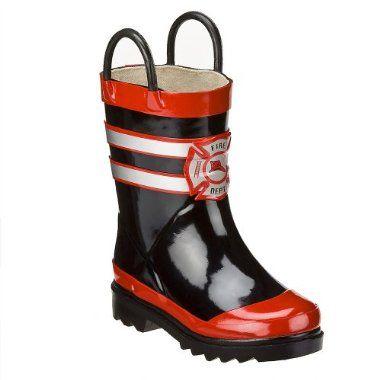 Fireman Rain Boots - Cr Boot