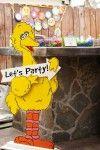 Big Bird Birthday Party