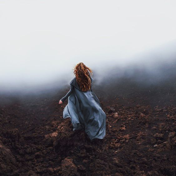 whispers of the nothing [From that one time we drove to the tippy top of Mauna Kea last summer and @elizabethgadd acted like an epic wizardess. <3]