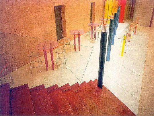 il Palazzo 'Oblomov' 1989   by Shiro Kuramata