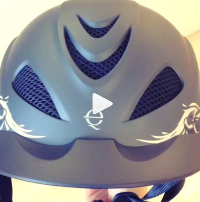 """Imagine you're listening to """"Wild Thing"""" and then watch this video showing off the wild new headliner in the #Troxel Rebel Rocker western #helmet! http://instagram.com/p/k7XxZRkHCN/"""