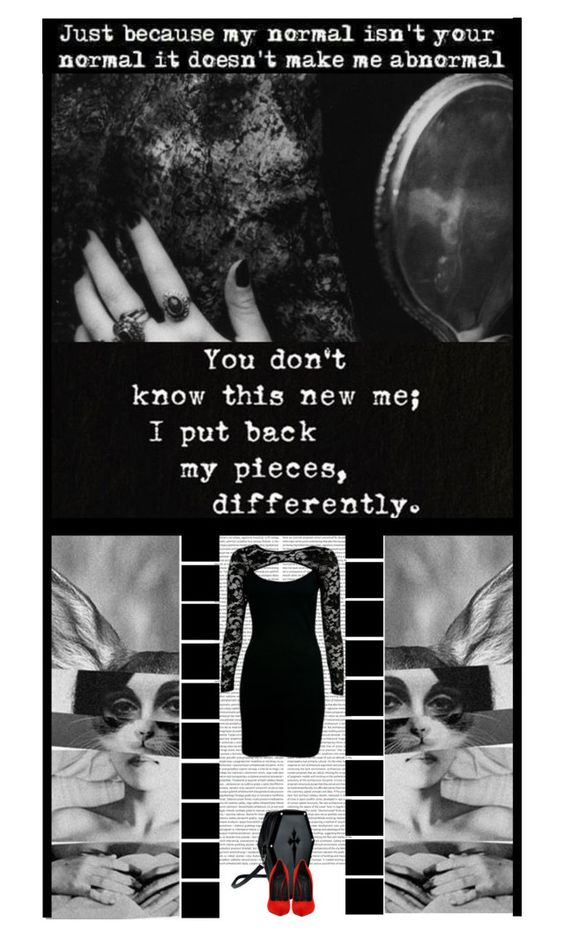 """""""You don't know this NEW me.."""" by irresistible-livingdeadgirl ❤ liked on Polyvore featuring Giuseppe Zanotti, black, emo, Punk, goth, gothic, red, GiuseppeZanotti, art and depression"""