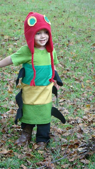 I made this for my son. The Very Hungry Caterpillar.