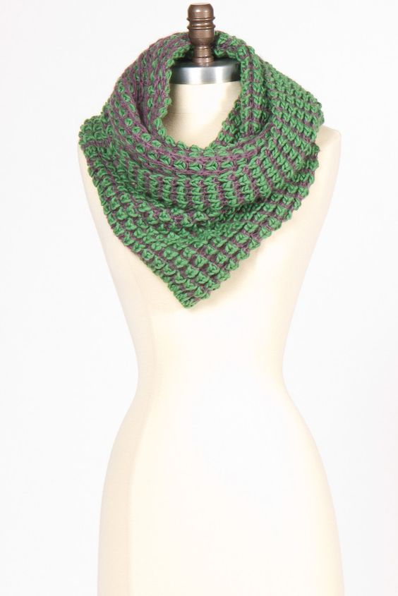 Chunky Knit Wraparound Scarf--winter staple
