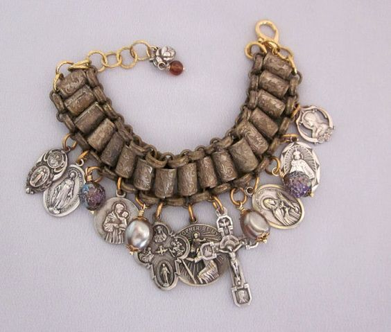 Pinterest the world s catalog of ideas for Repurposed vintage jewelry designers