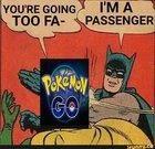 I'm a passenger...