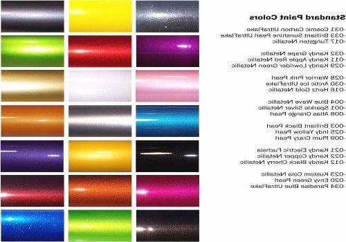 Metallic Ppg Automotive Paint Color Chart Car Paint Colors Car Painting Paint Charts