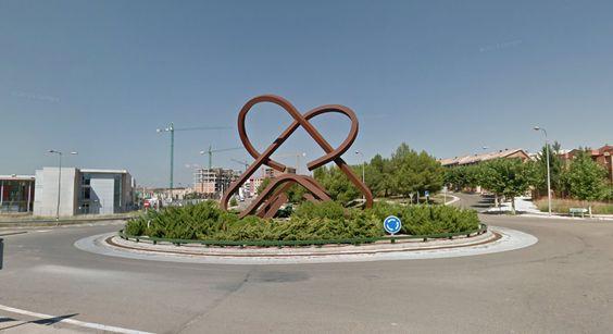 Rotonda de los amantes de Teruel