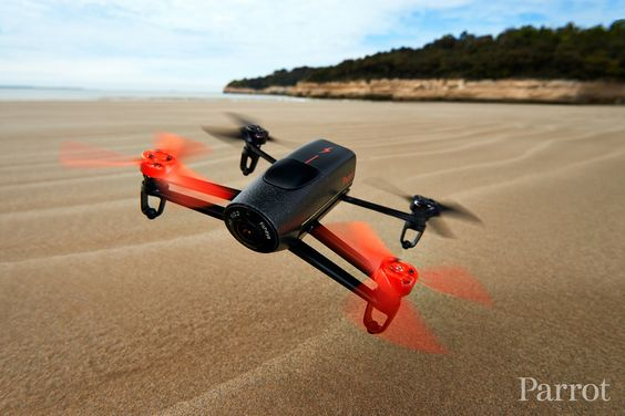 Parrot Bebop Drone on Royan's Beach - France