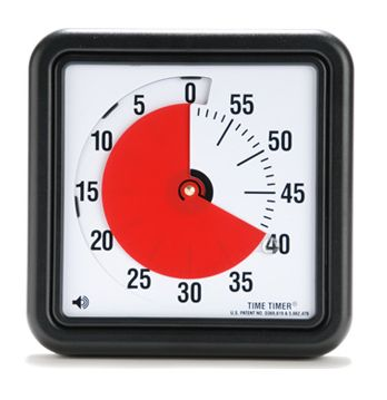 Visual timers work wonders with those students who have trouble getting started on assignments and students who seldom complete their work.
