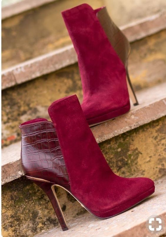 Charming Early Fall  Booties