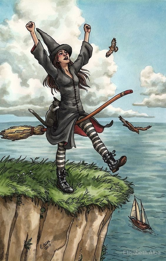 «Tarot de Bruja todos los días - El tonto» de Elisabeth Alba