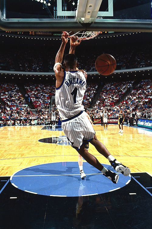 ... penny hardaway is spotted wearing an all red air jordan 11 penny  hardaway and air jordan 535e1bb14