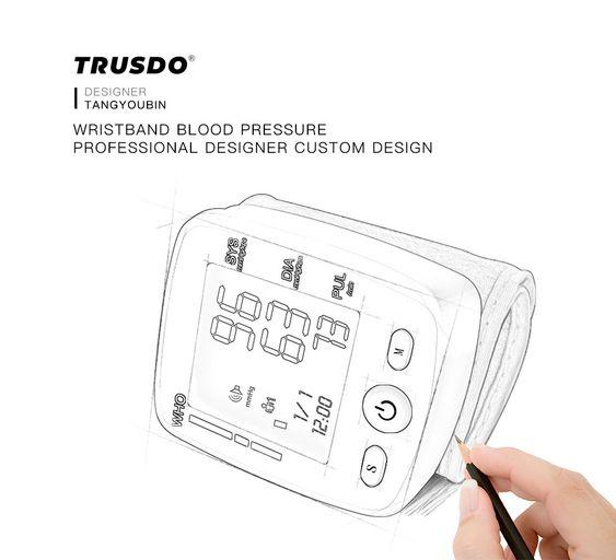Design Draft Trusdo Blood Pressure Designer How To Accurately