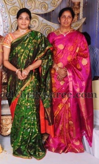Celebrity Sarees - fabunited.com