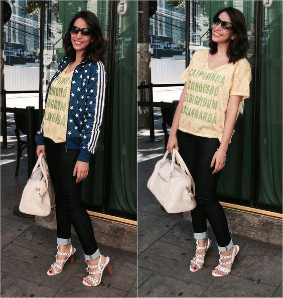 Look da Luli: Vai, Brasil! #LookdoDia #LookdaLuli #OOTD #fashion #Brasil #Adidas