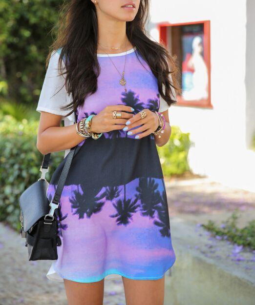 Printed Tube Dress 16191 $5.8 | Get it on Global-Lover