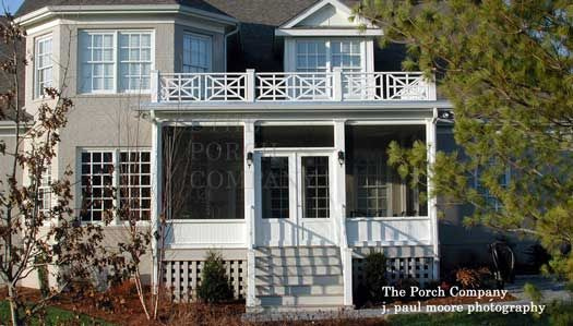 Screen Porch Design Ideas For Your Porchu0027s Exterior | Flat Roof, Porches  And Railings
