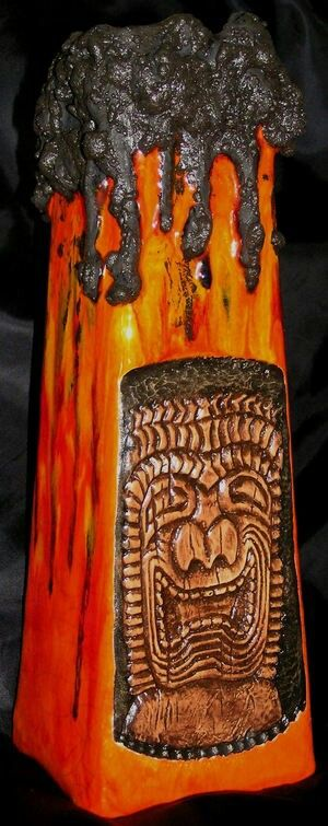 Fat lava vase by Gecko