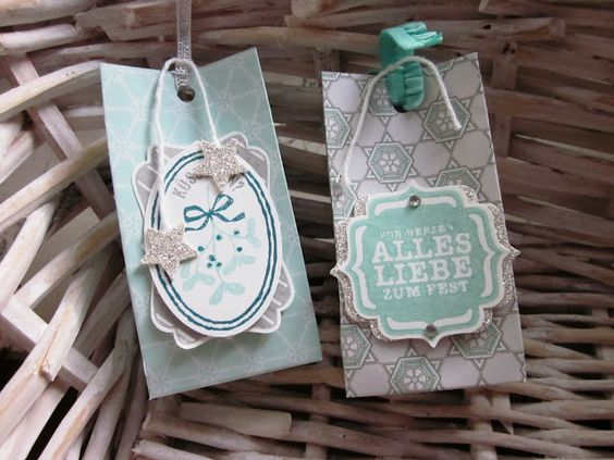"""stampin with fanny: Goodies """"Eiszauber"""""""