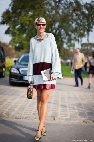 STYLE DU MONDE / Paris FW SS2014: Elisa Nalin  // #Fashion, #FashionBlog, #FashionBlogger, #Ootd, #OutfitOfTheDay, #StreetStyle, #Style