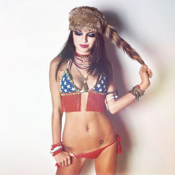 rebel flag bikini photo shoots | 2483x2483