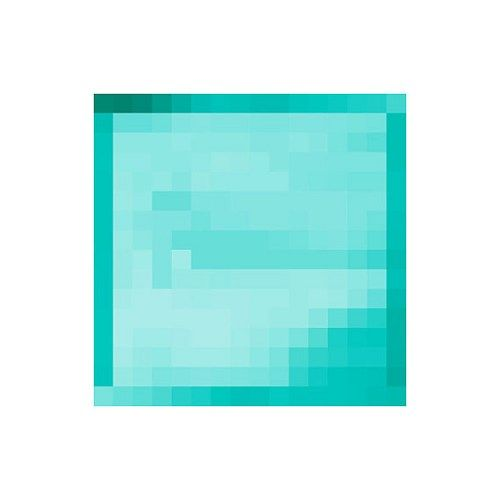 "5"" X 5"" Minecraft Diamond Block Vinyl Wall Decal ..."