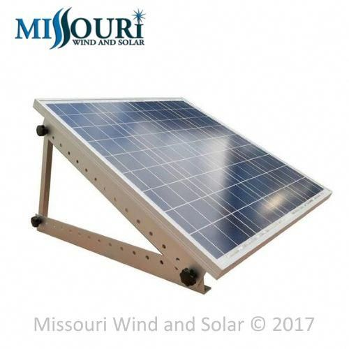 Adjustable Solar Panel Mounting Kit For Rv And Marine Missouri Wind And Solar Solar Panel Mounts Solar Panels Best Solar Panels
