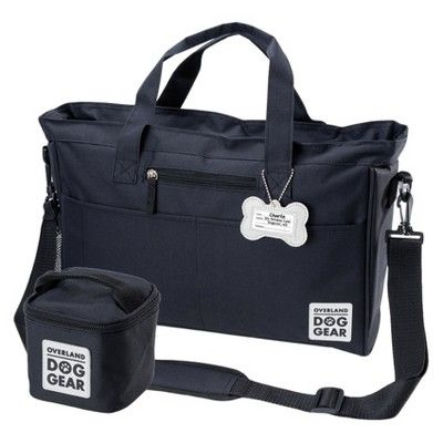 Overland Dog Gear Travel Bag Day Away Tote For All Size Dogs