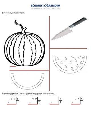 Bolme Islemi Gorselleri Ile Ilgili Gorsel Sonucu Matematik