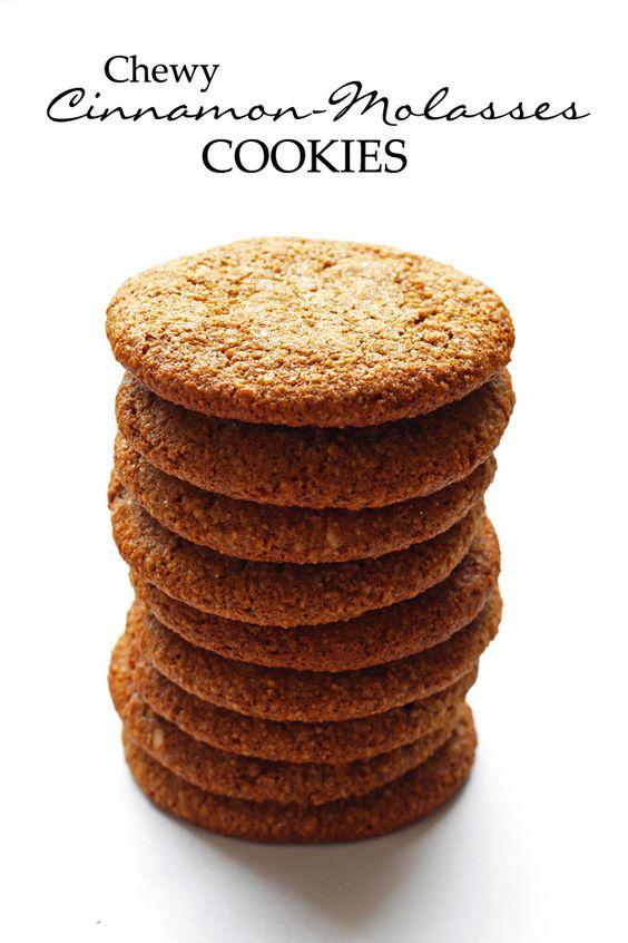 Natural molasses cookies recipe