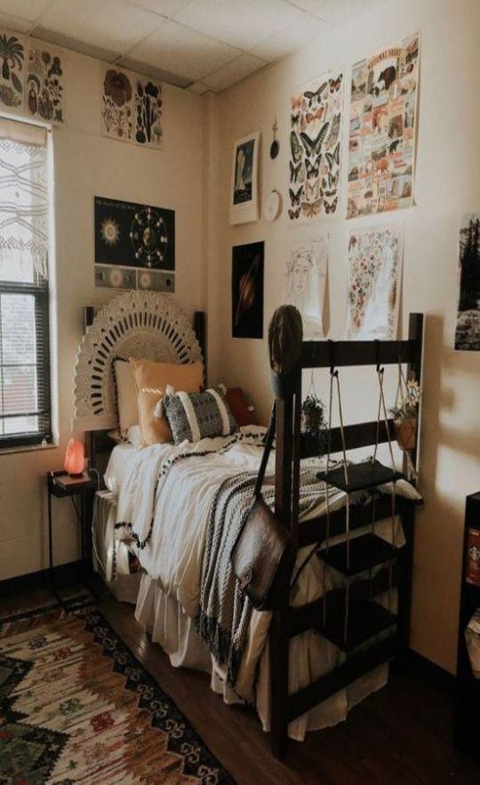 10 Cute Dorm Rooms That You Need To Copy This Semester Society19 Dorm Room Designs Dorm Room Decor Dorm Room Inspiration