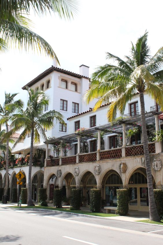 Palm Beach - I worked at La Famiglia as a manager, located here on Worth Avenue.