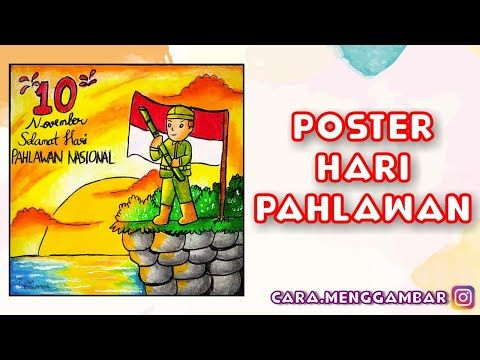 Poster Hari Pahlawan Ep 277 Youtube Seni Gambar