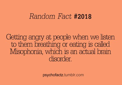 I guess I have a brain disorder... People seriously do these things so obnoxiously!