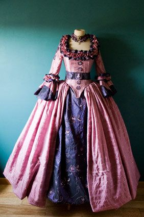 Rococo Old Fashion And Gowns On Pinterest