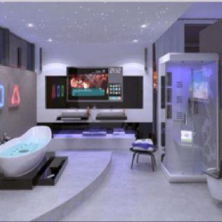 Minha casa ideal tem que ter um banheiro assim.